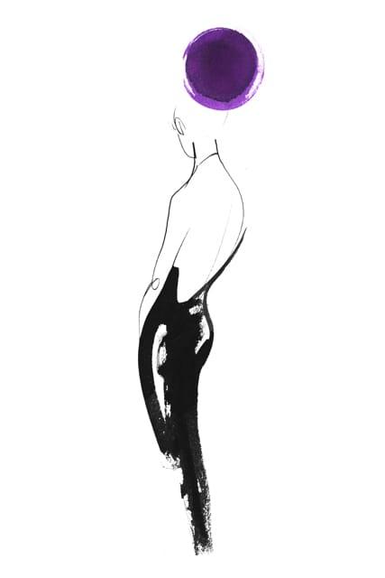 femme-back-black-robe