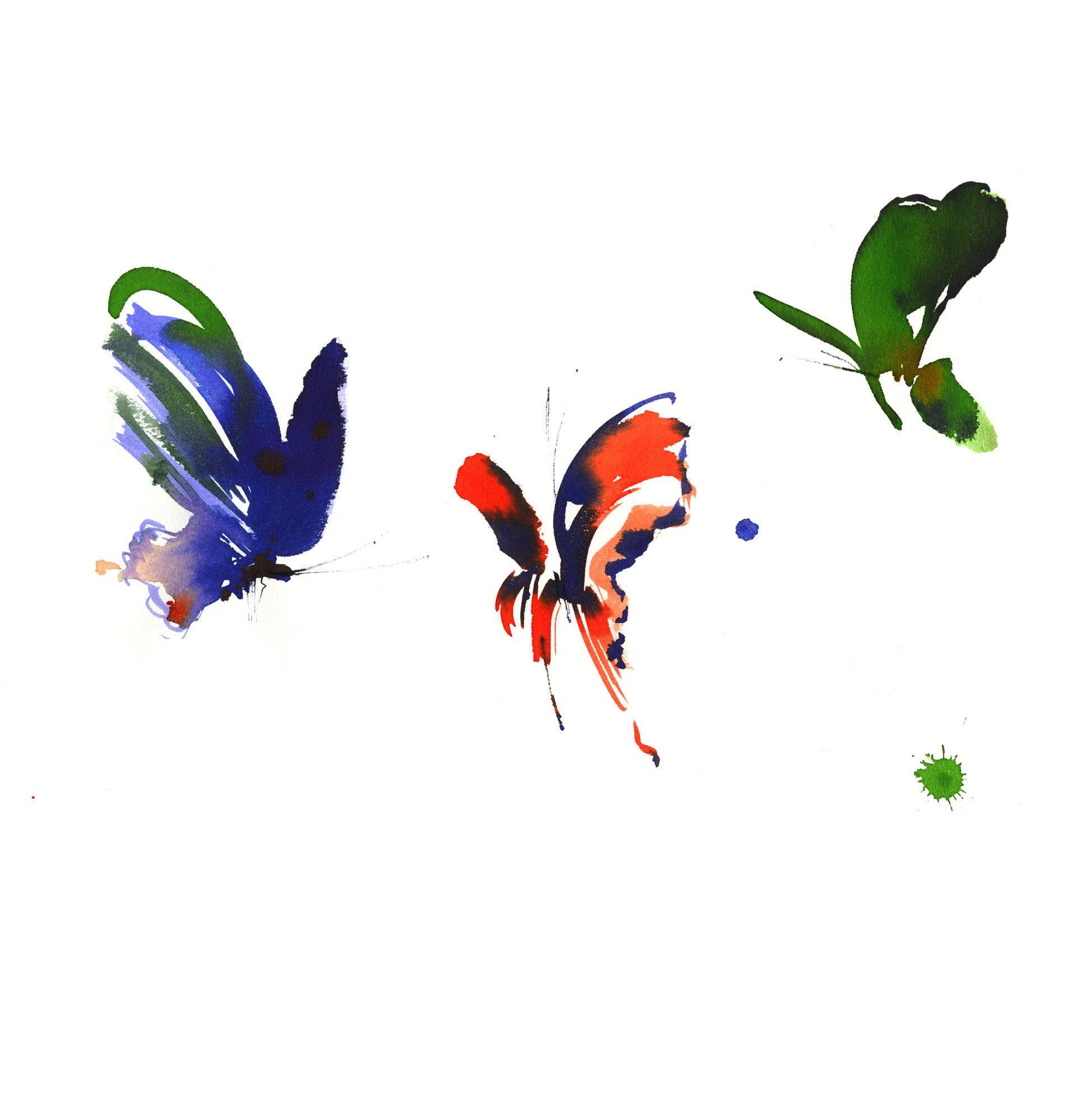 Lovisa Burfirtt illustration Papillons