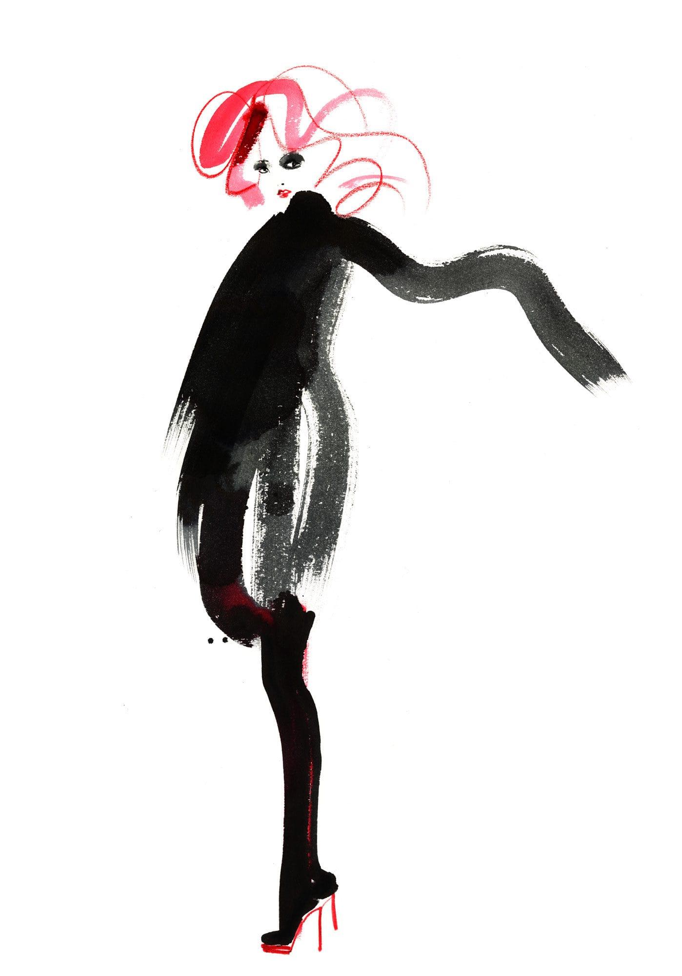 Lovisa Burfitt illustration Automnal Rocco Forte
