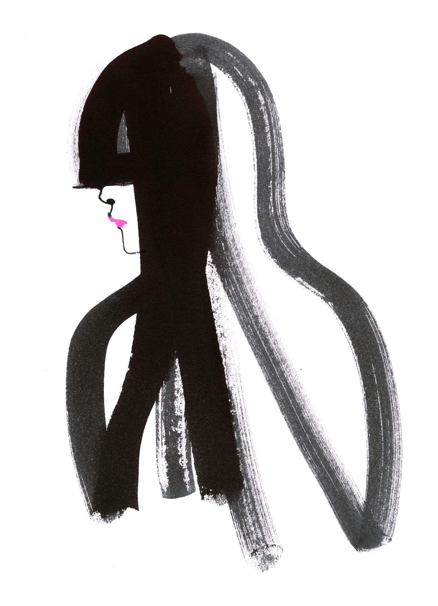 Lovisa Burfitt illustration Black-bang