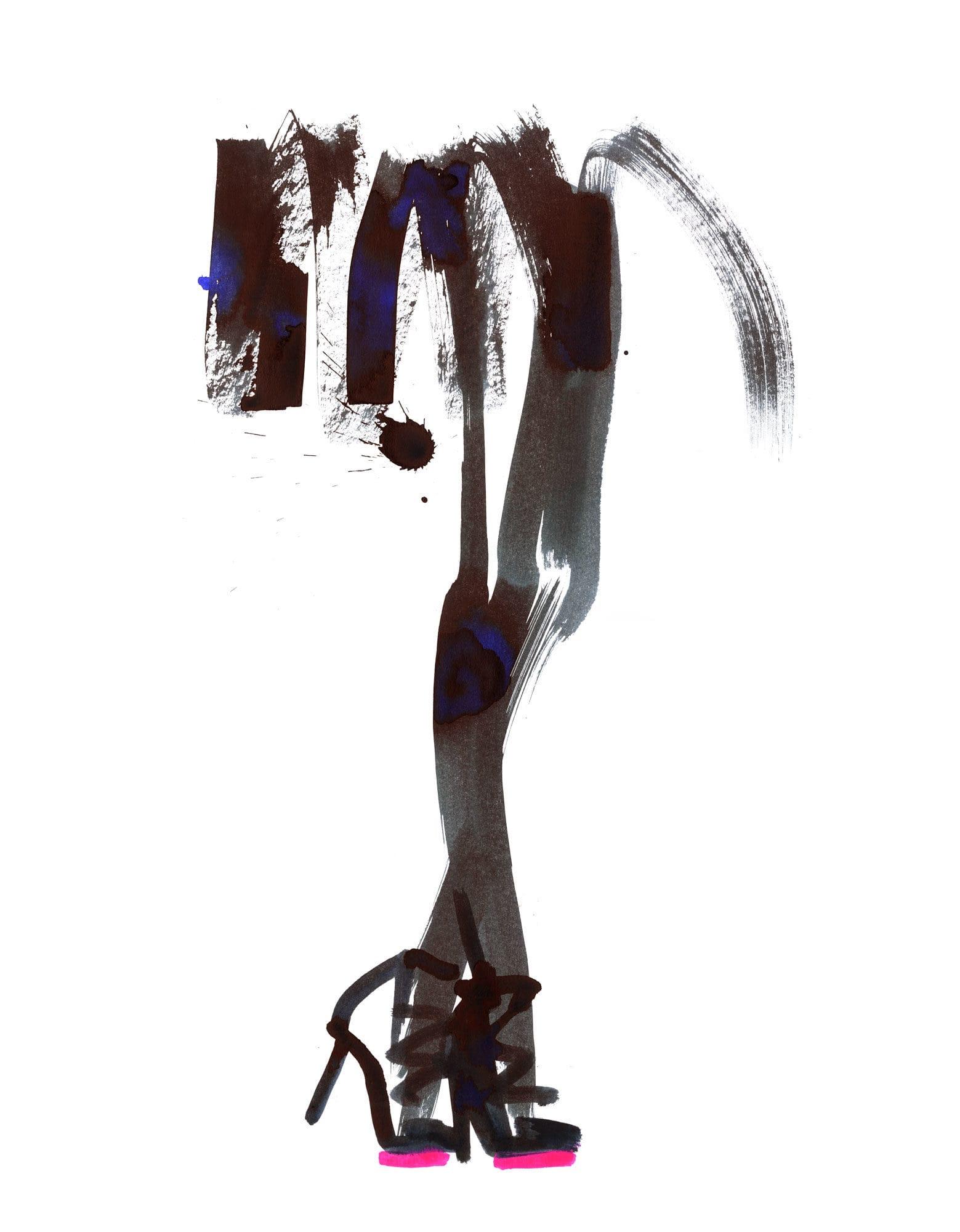 Lovisa Burfitt illustration Bluey-black-fluo