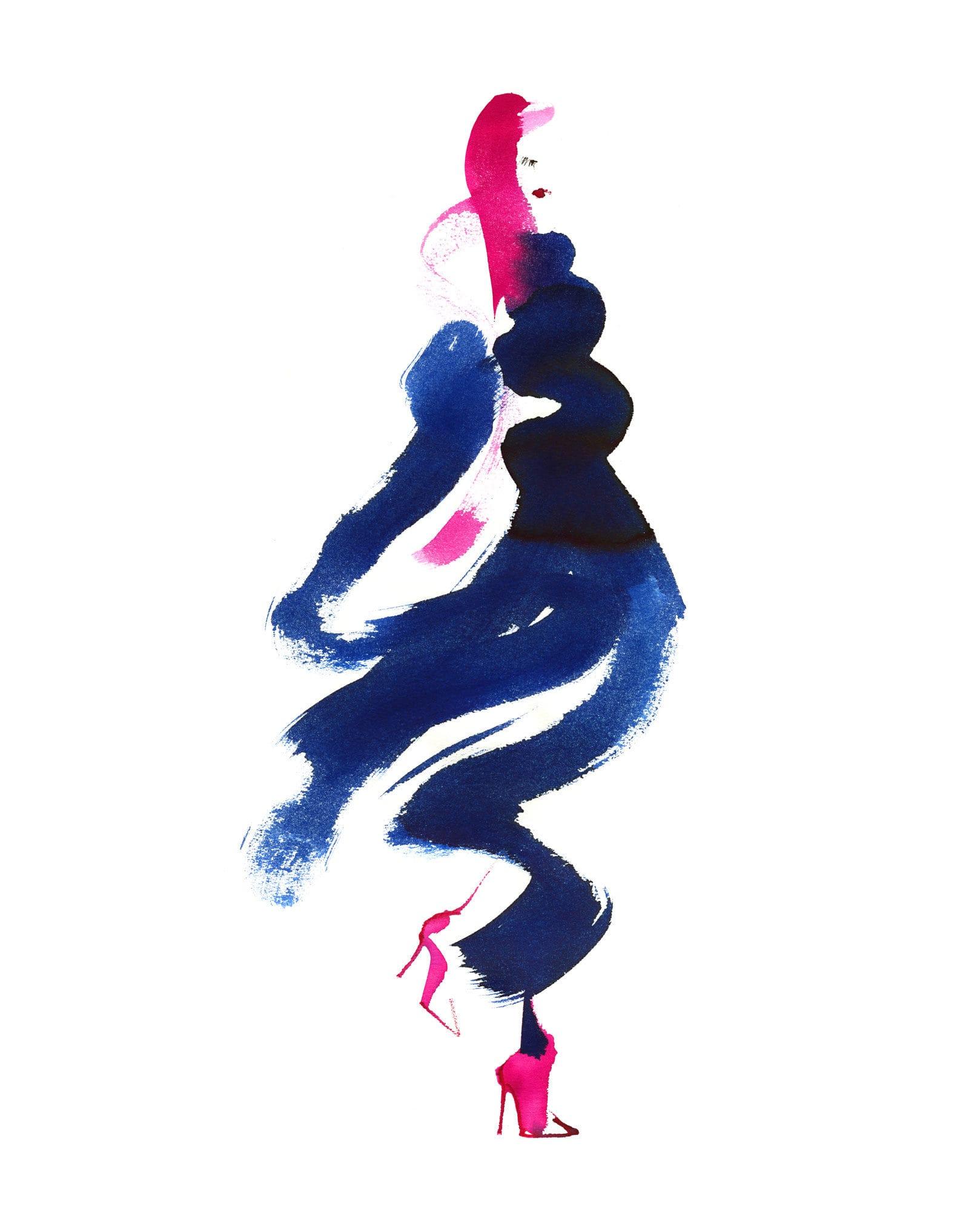Lovisa Burfitt illustration Flowy-ventee