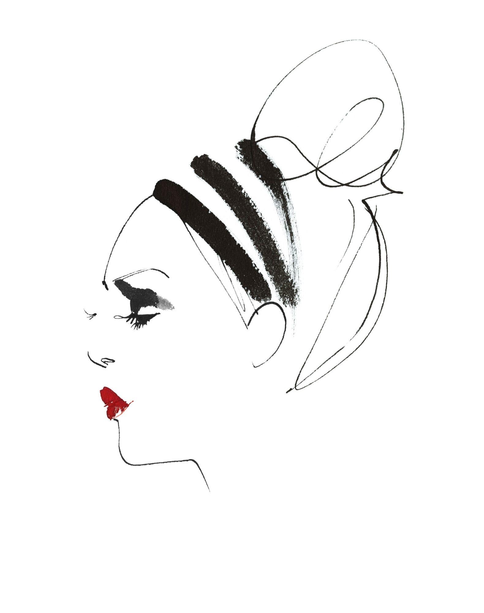 Lovisa Burfitt illustration Levres-feu-rouge