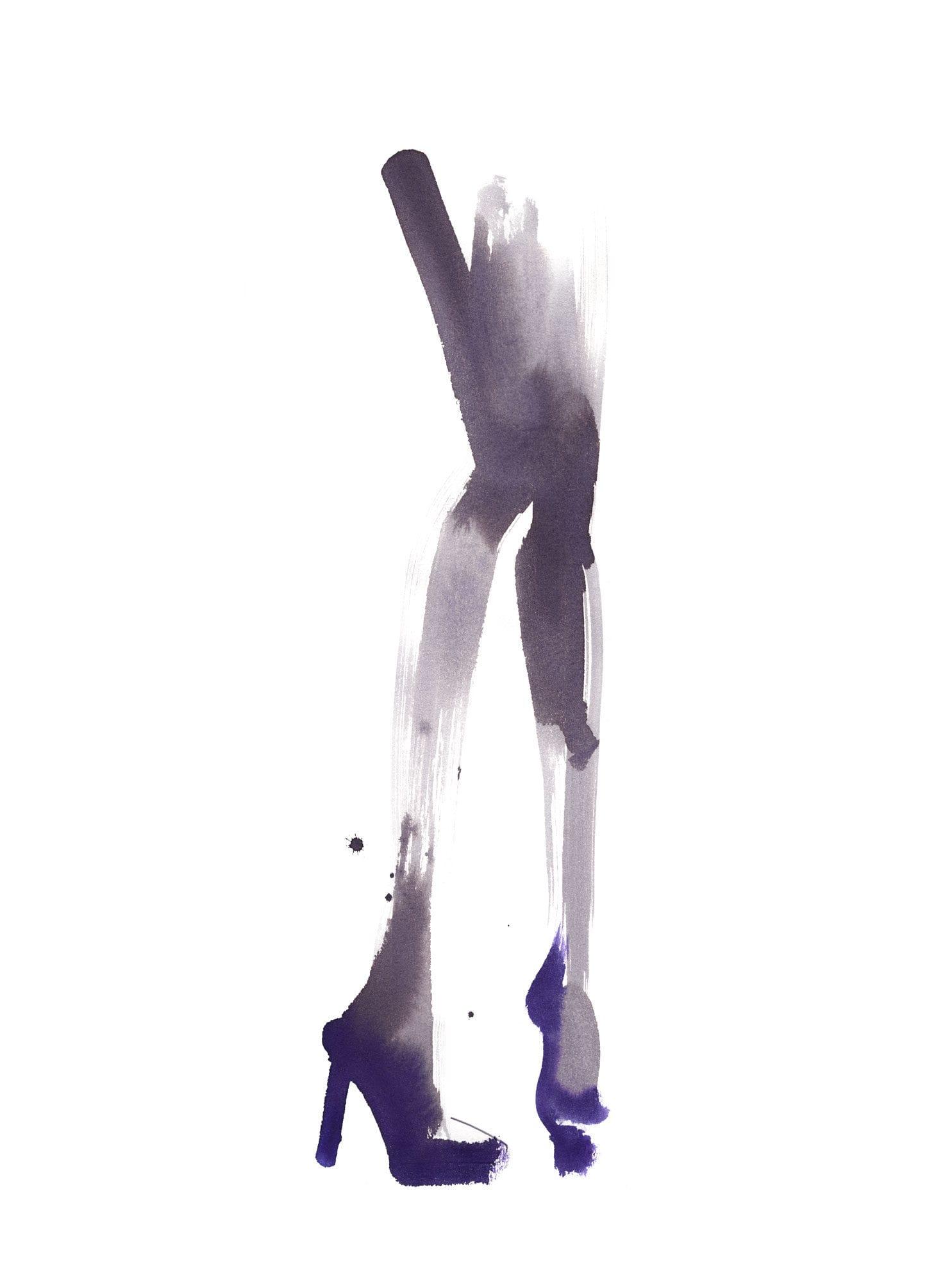 Lovisa Burfitt illustration Purple Places-