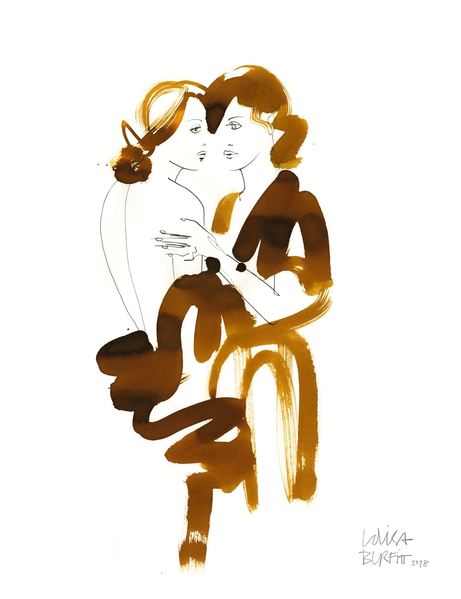 Lovisa Burfitt illustration Reflets-ambre