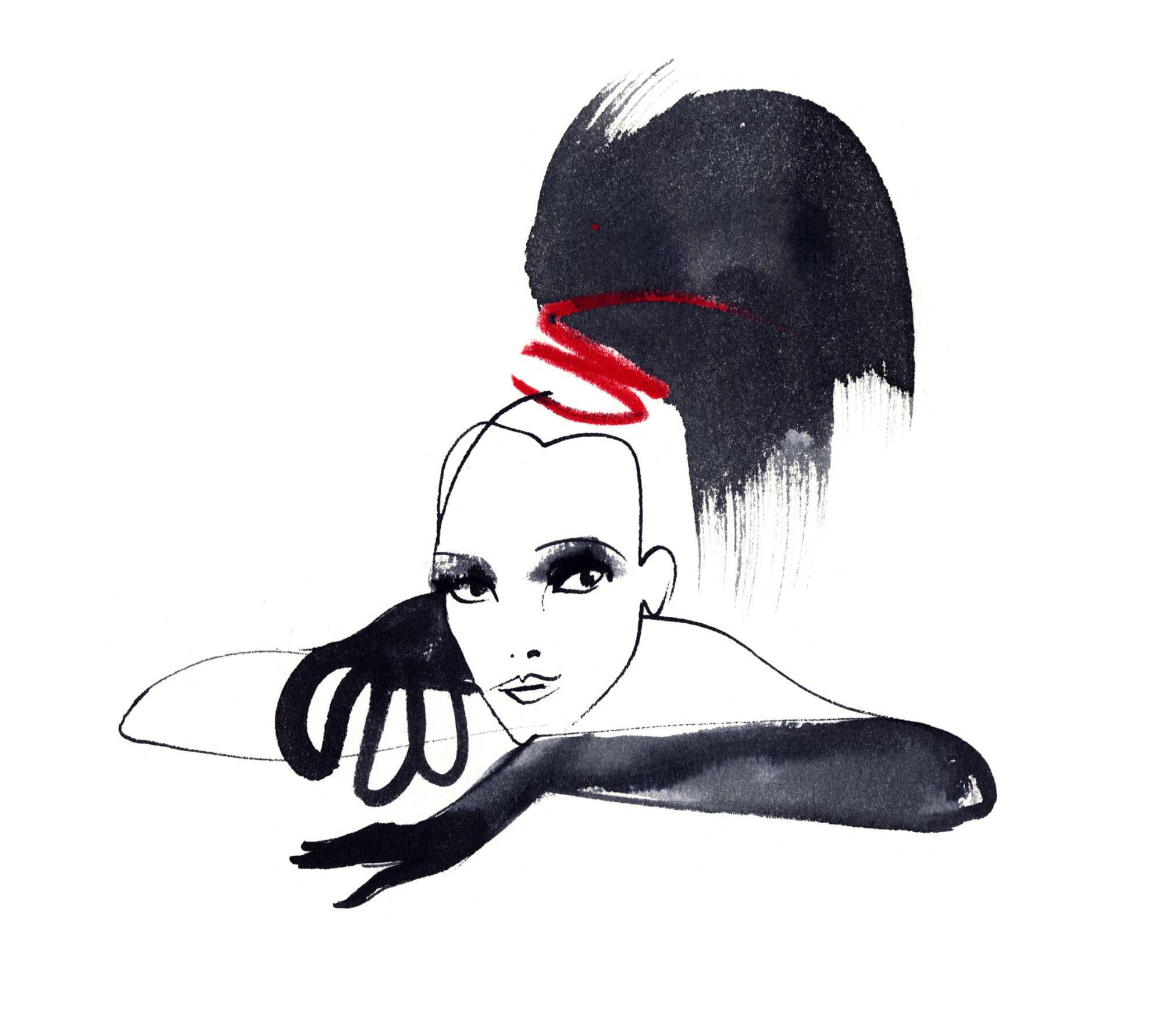 Lovisa Burfitt illustration Rocco-Forte-Queue-de-cheval