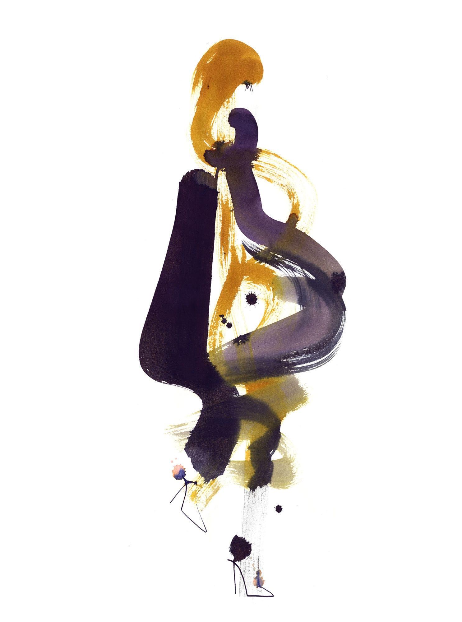 Lovisa Burfitt illustration Swooshy