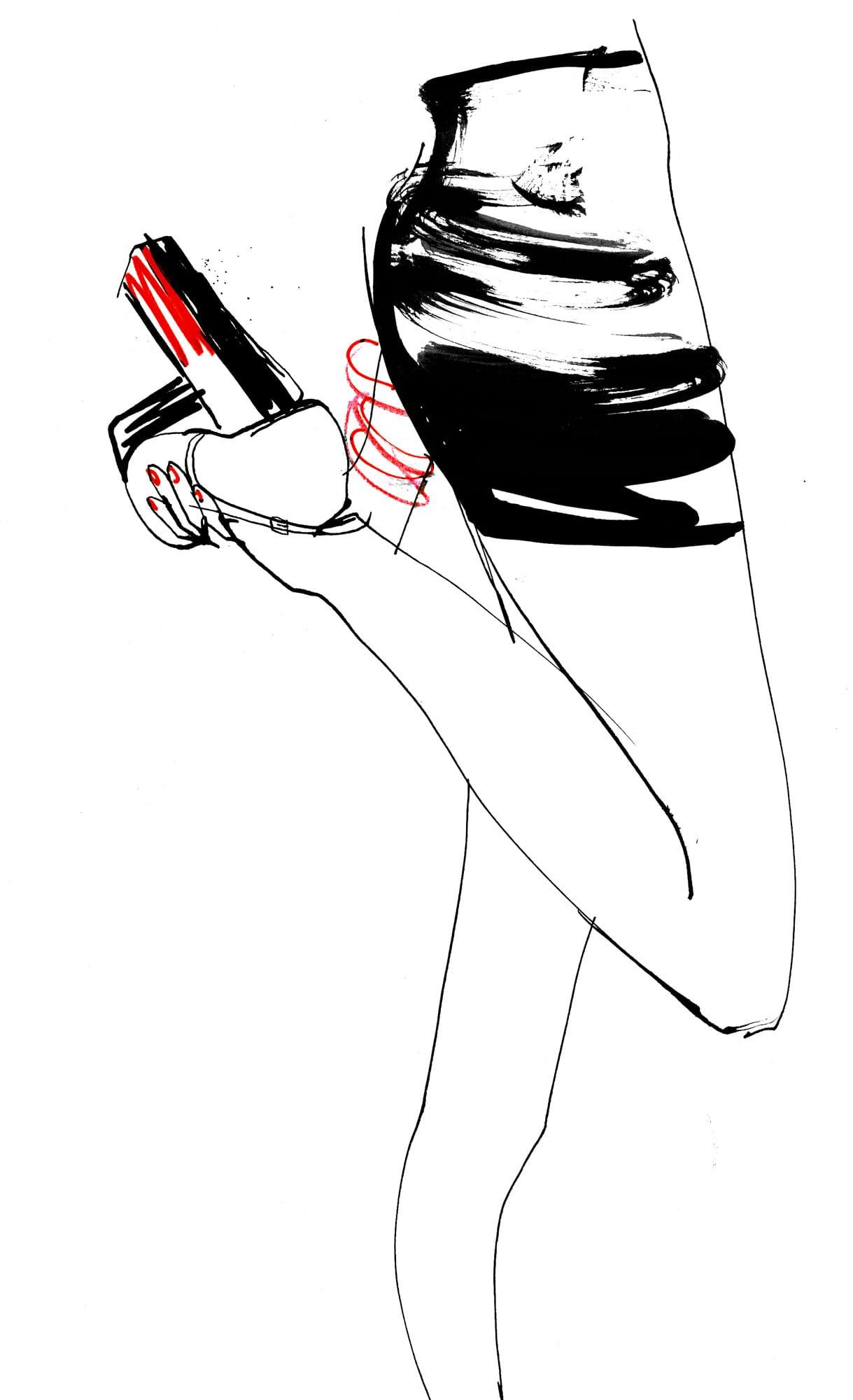 Lovisa Burfitt illustration Touche-rouge