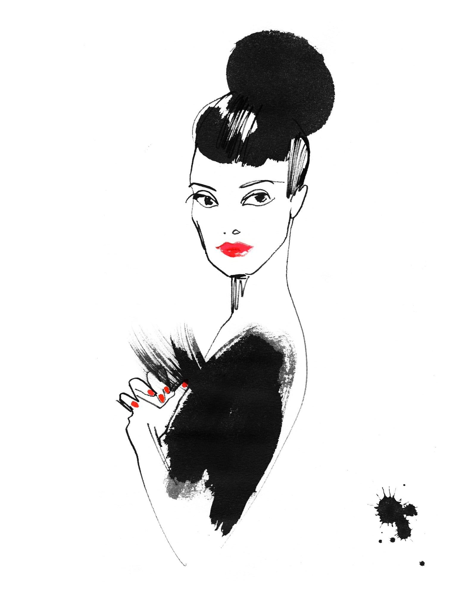 Lovisa Burfitt illustration Audrey-