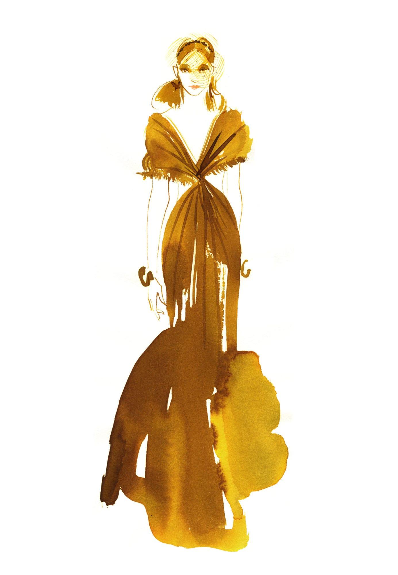 Lovisa-Burfitt-illustration-Dior-couture-2020