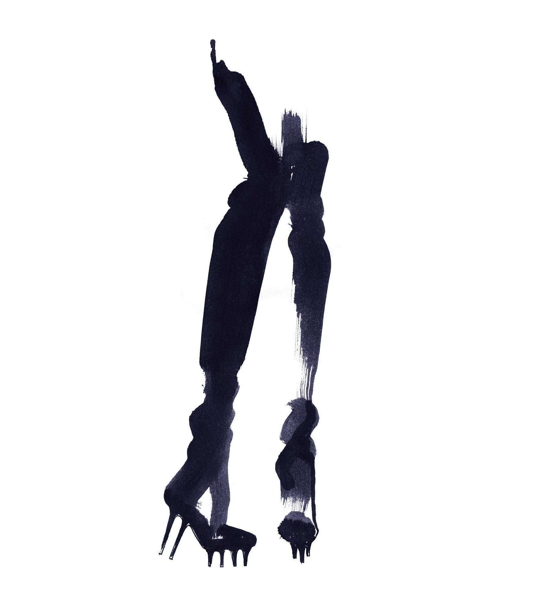 Lovisa-Burfitt-illustration-Gaultier-bottes