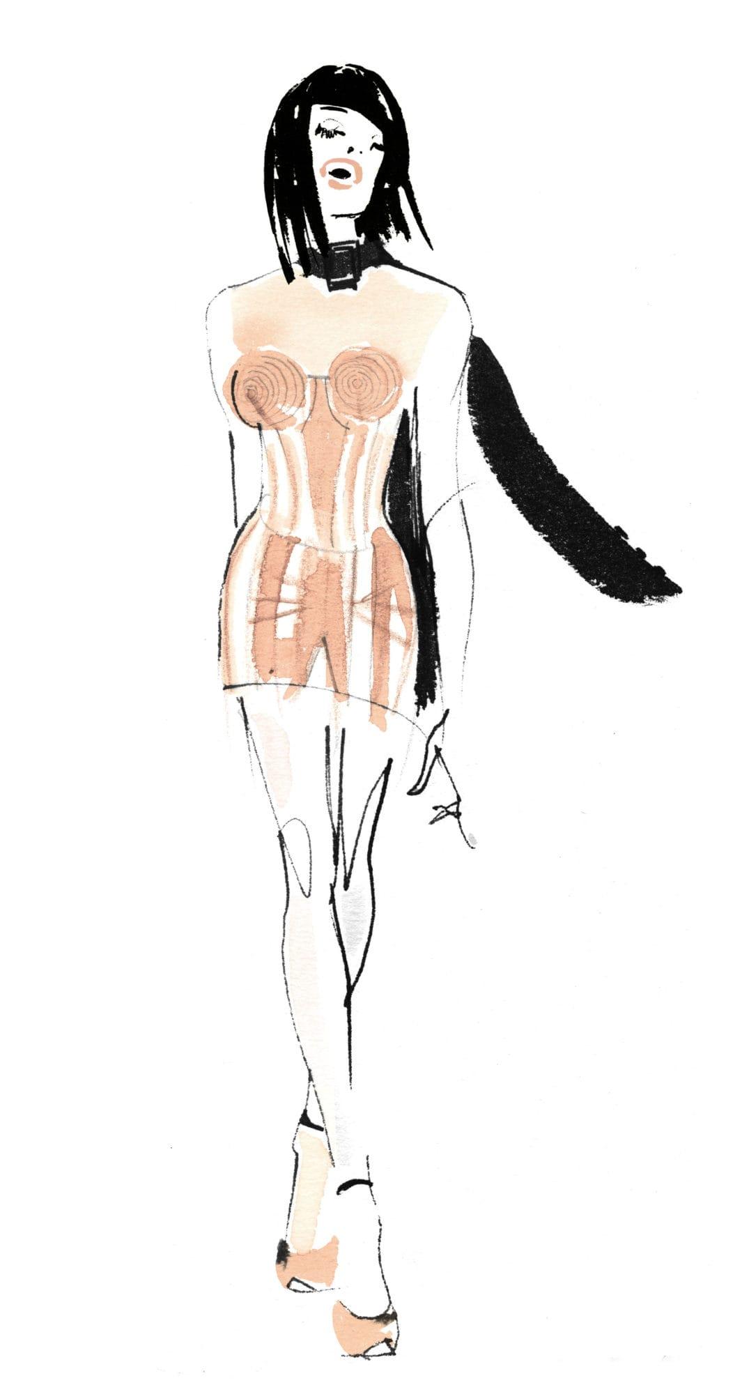 Lovisa-Burfitt-illustration-JPGaultier---2020