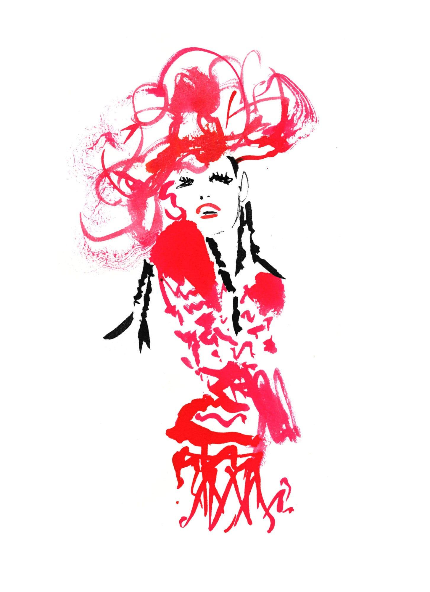 Lovisa-Burfitt-illustration-JPGaultier-fete