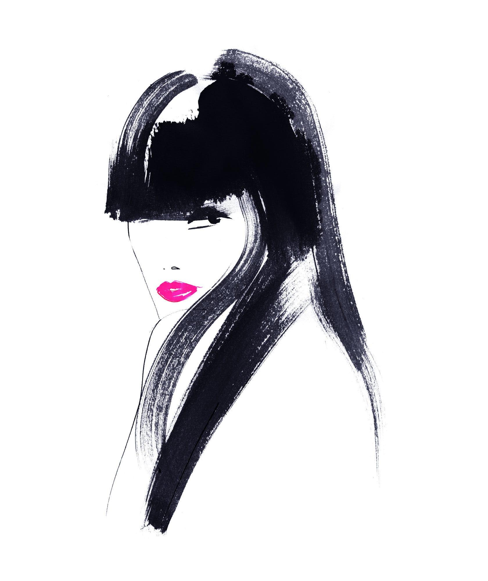 Lovisa Burfitt illustration Lipsticks-bang