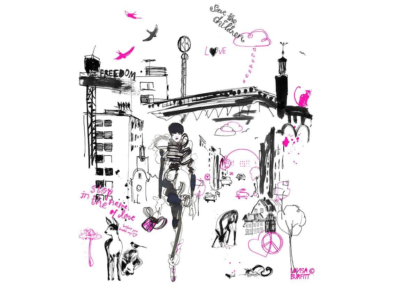 Lovisa-Burfitt-illustration-Stockholm-Radda-Barnen