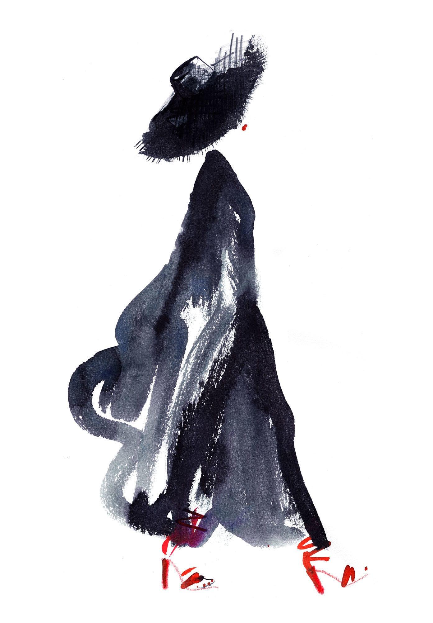 Lovisa Burfitt illustration Tunic-flowin