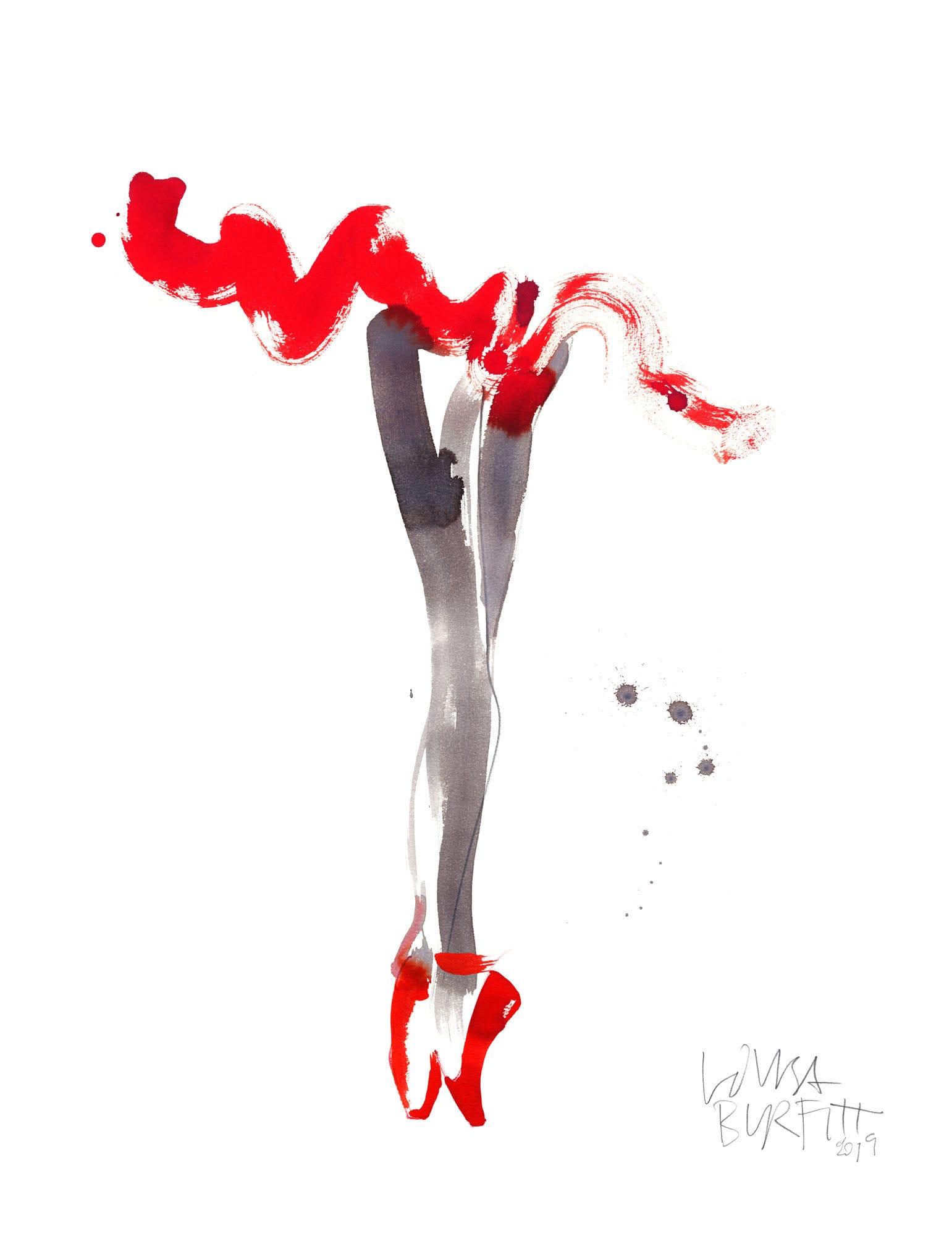 Lovisa-Burfitt-illustration-ballerina-red