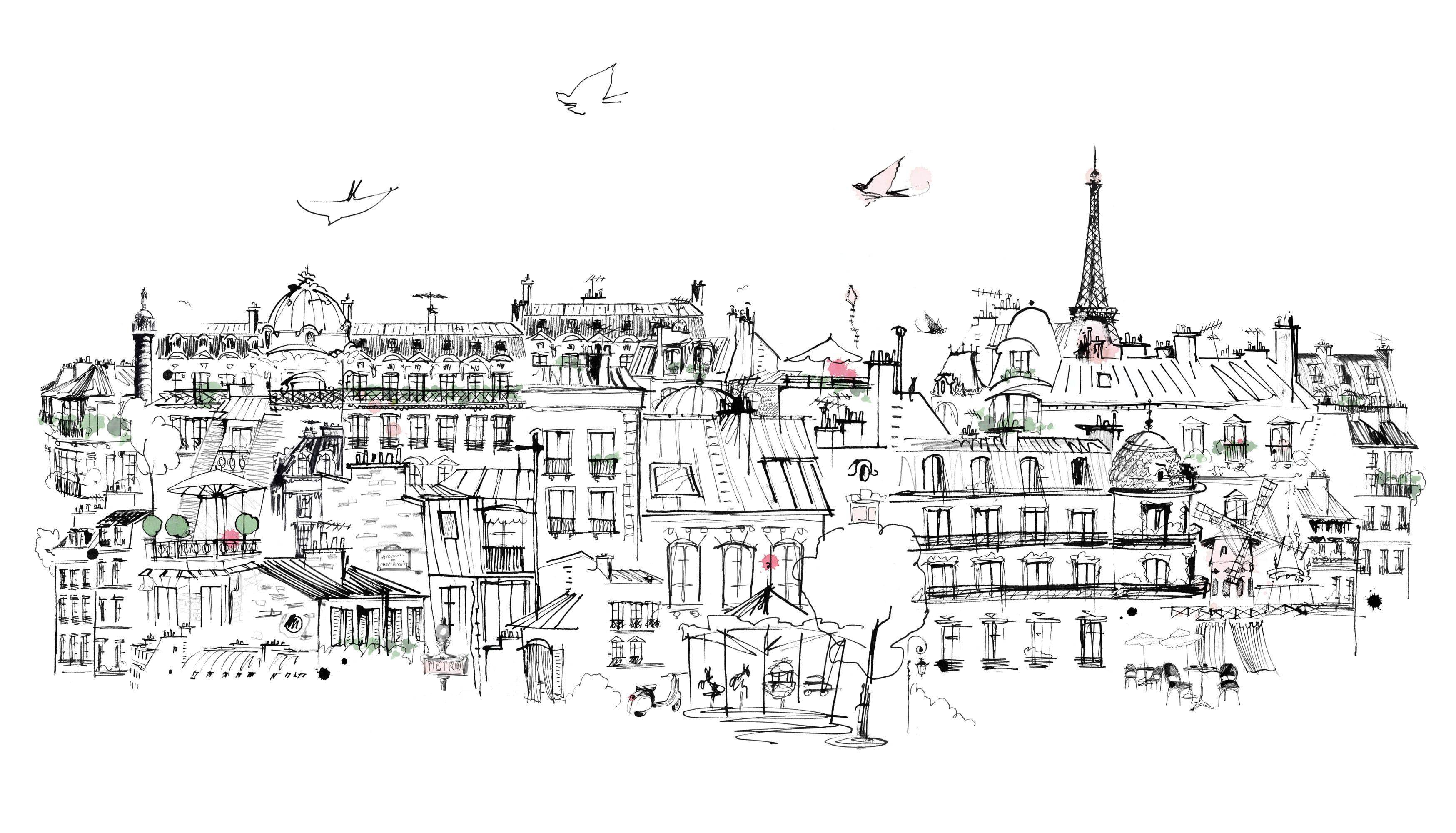 Lovisa-Burfitt-illustration-ciel-Paris