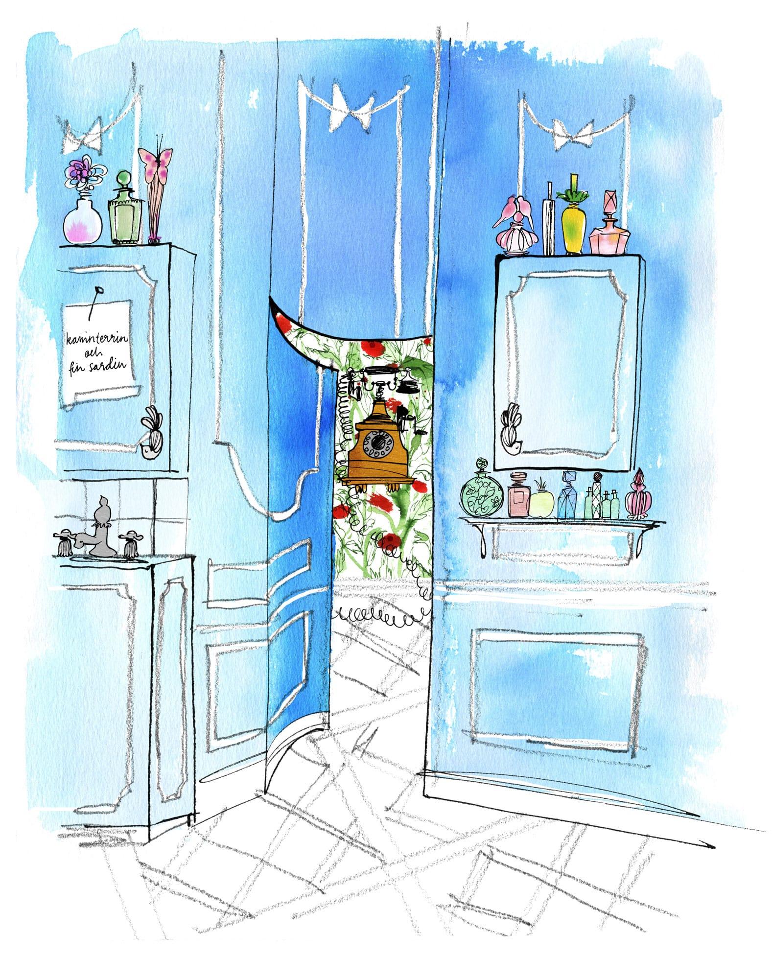 Lovisa-Burfitt-illustration-sardiner-vaggtelefon