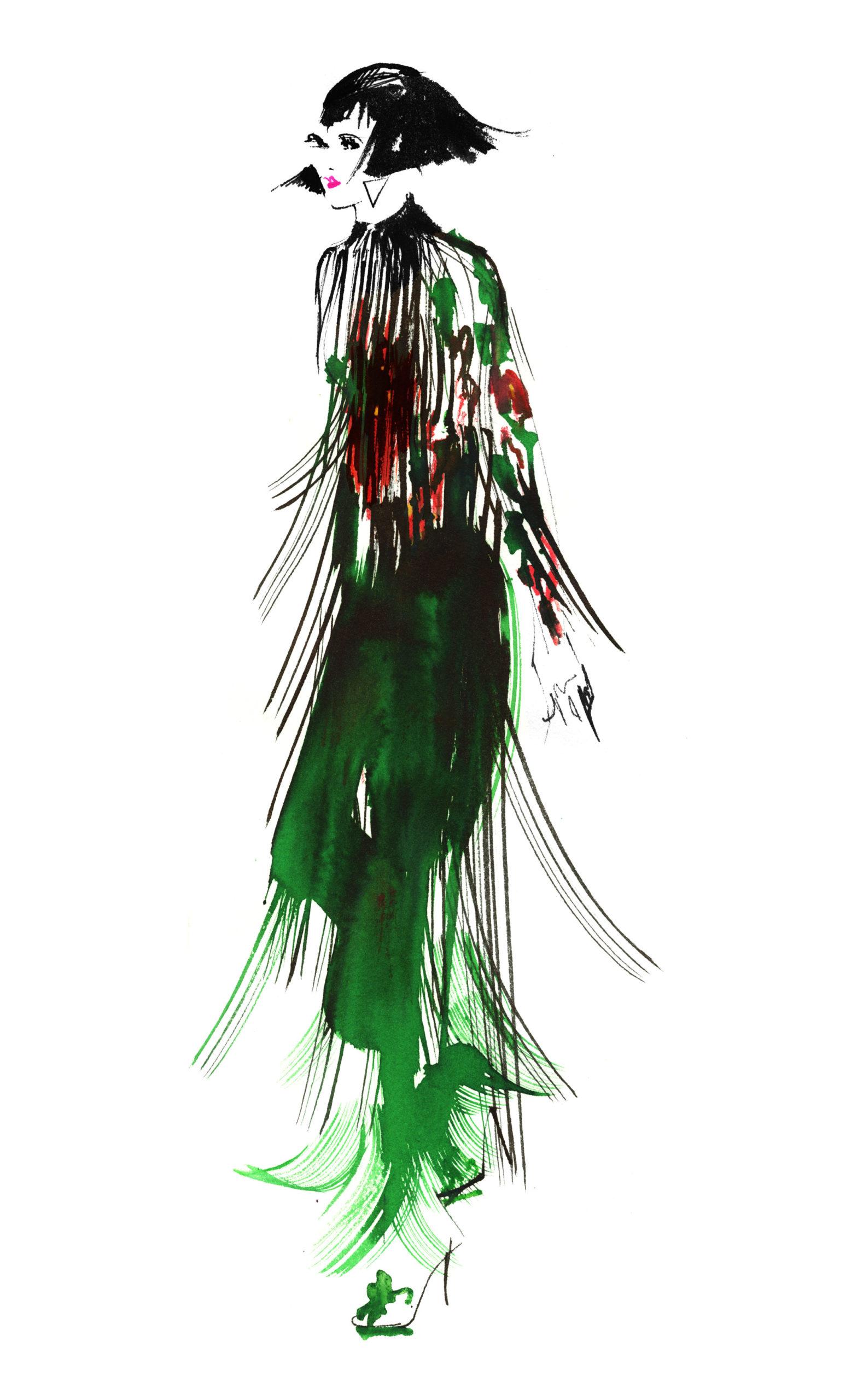 Lovisa-Burfitt-illustration-Armani-couture-2020