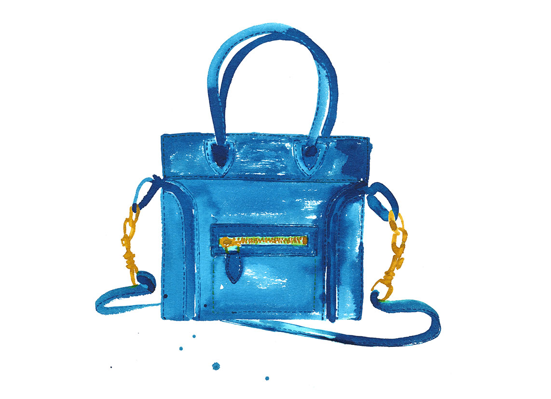 Lovisa-Burfitt-illustration-Celine-nano-bag
