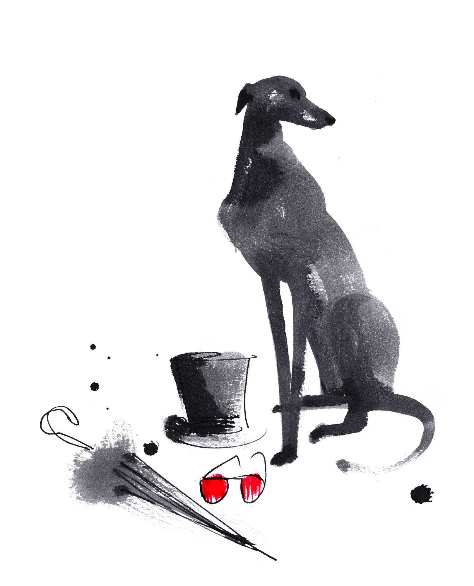 Lovisa Burfitt illustration The-concierge
