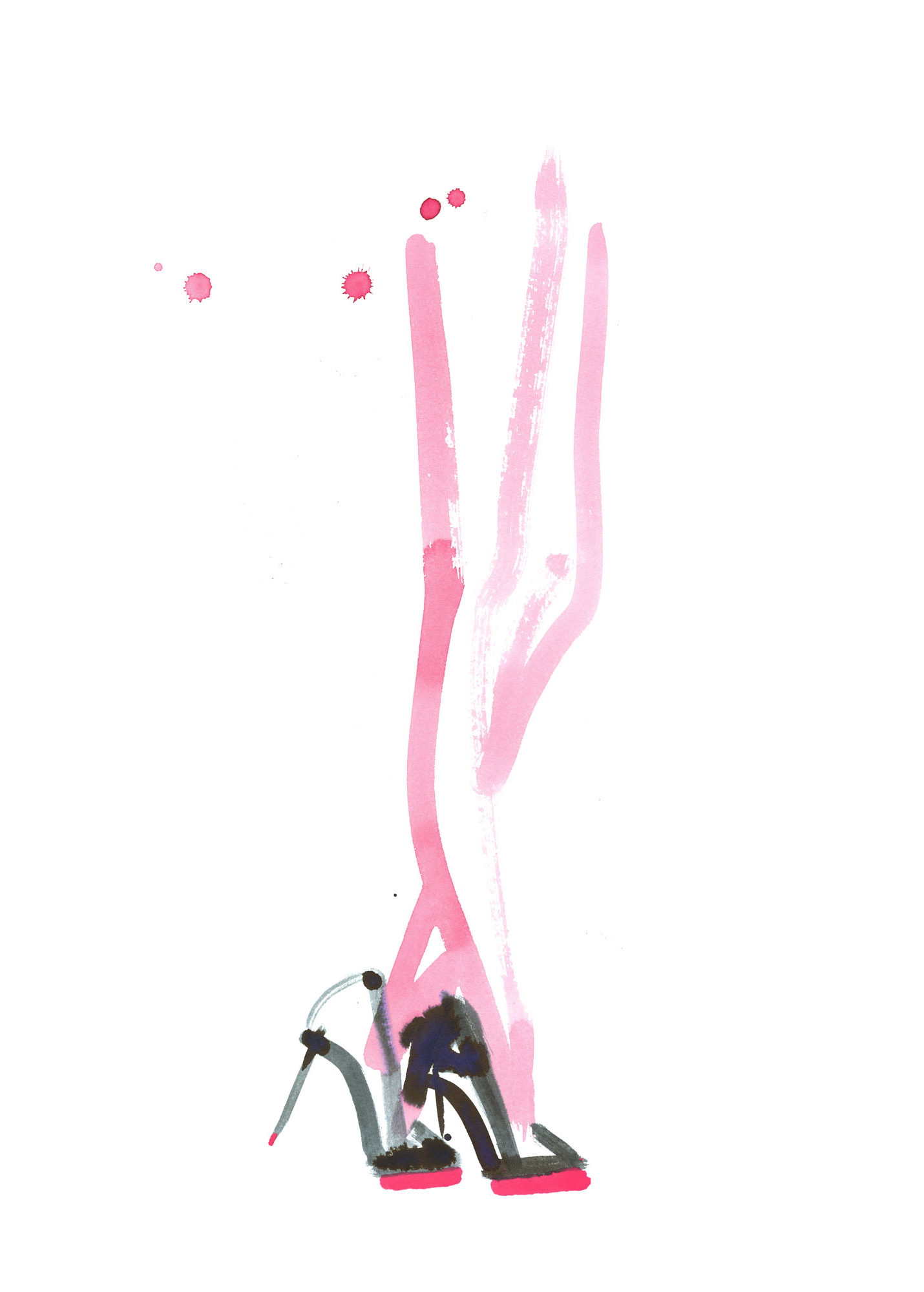 Lovisa Burfitt illustration Bubblegum legs