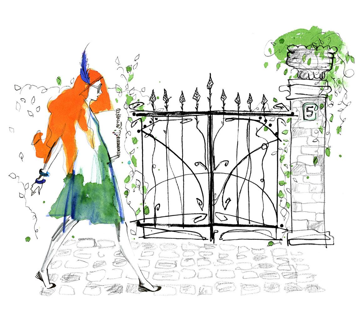 Lovisa-Burfitt-illustration-Isis-Rose-gate-