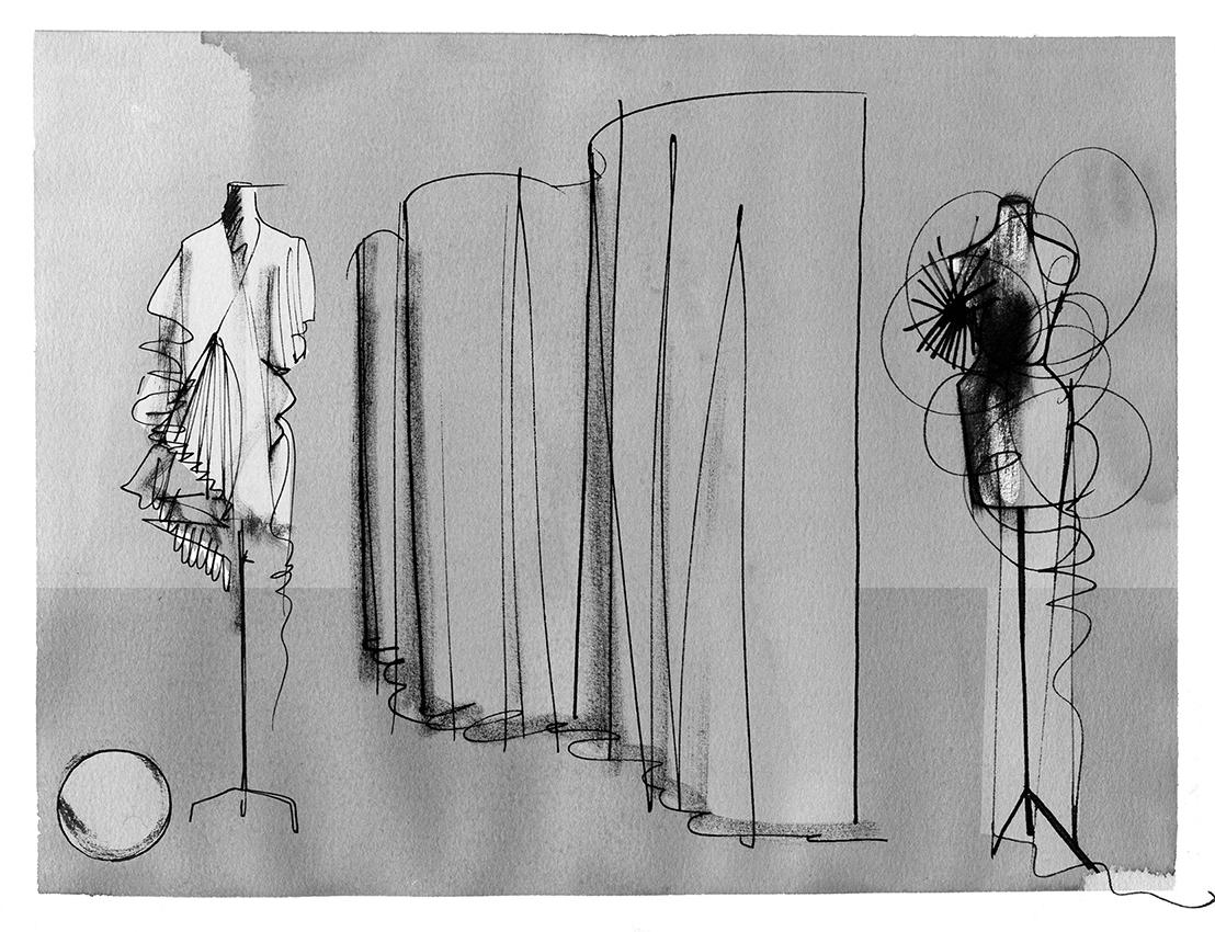 Lovisa-Burfitt-illustration-Mannequins-atelier-Lyktan-
