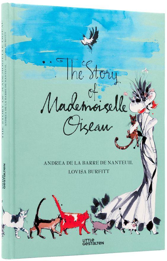 Lovisa Burfitt illustration The Book Mademoiselle O